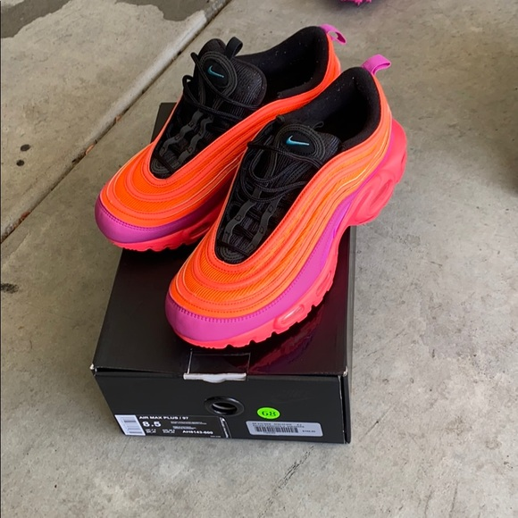 Obediencia Brutal Diligencia  Nike Shoes | Nike Air Max Plus 97 Racer Pink | Poshmark
